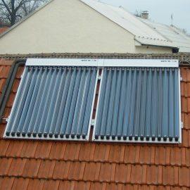Realizace solárních kolektorů